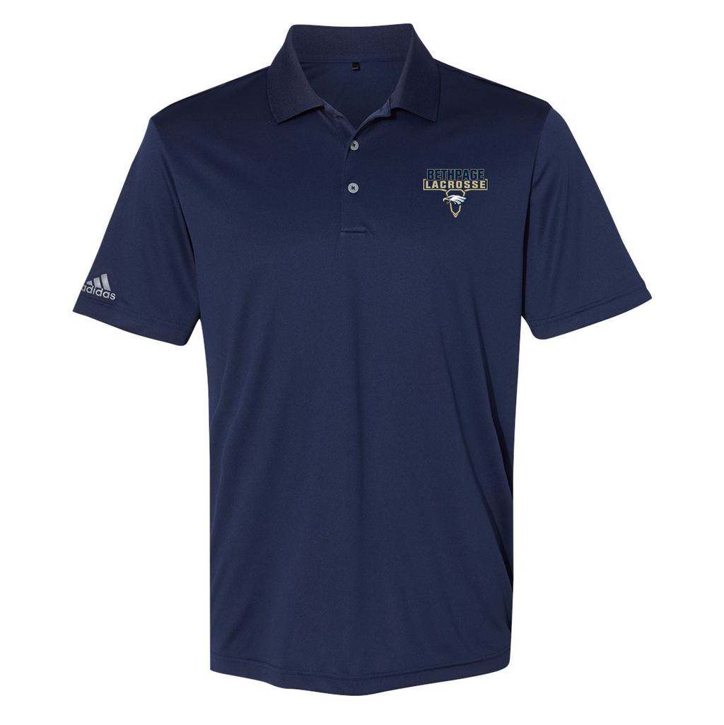 Bethpage HS Lacrosse Adidas Performance Sport Polo