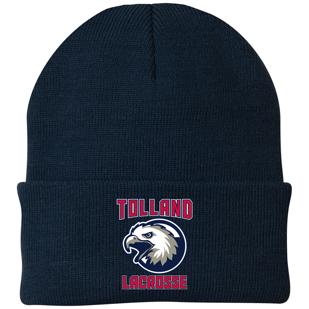 Tolland Lacrosse Club Knit Beanie