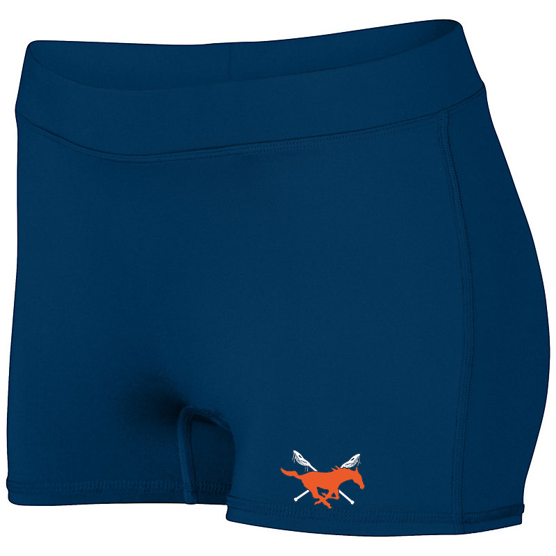 Baton Rouge Mustangs Women's Compression Shorts