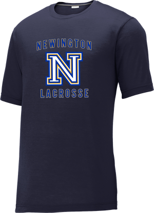 Newington Lacrosse Navy CottonTouch Performance T-Shirt