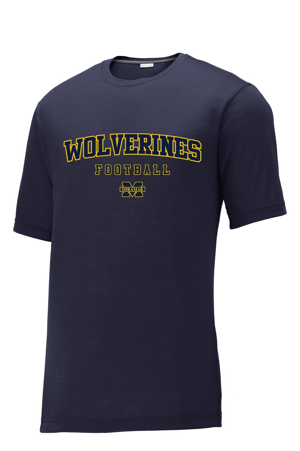 Miramar Wolverines Football CottonTouch Performance T-Shirt