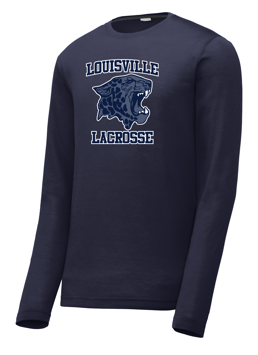 Louisville High School Lacrosse Long Sleeve CottonTouch Performance Shirt