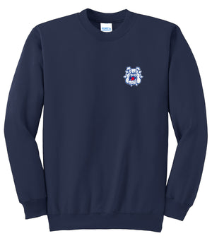 Michigan Bulldogs Baseball Crew Neck Sweater