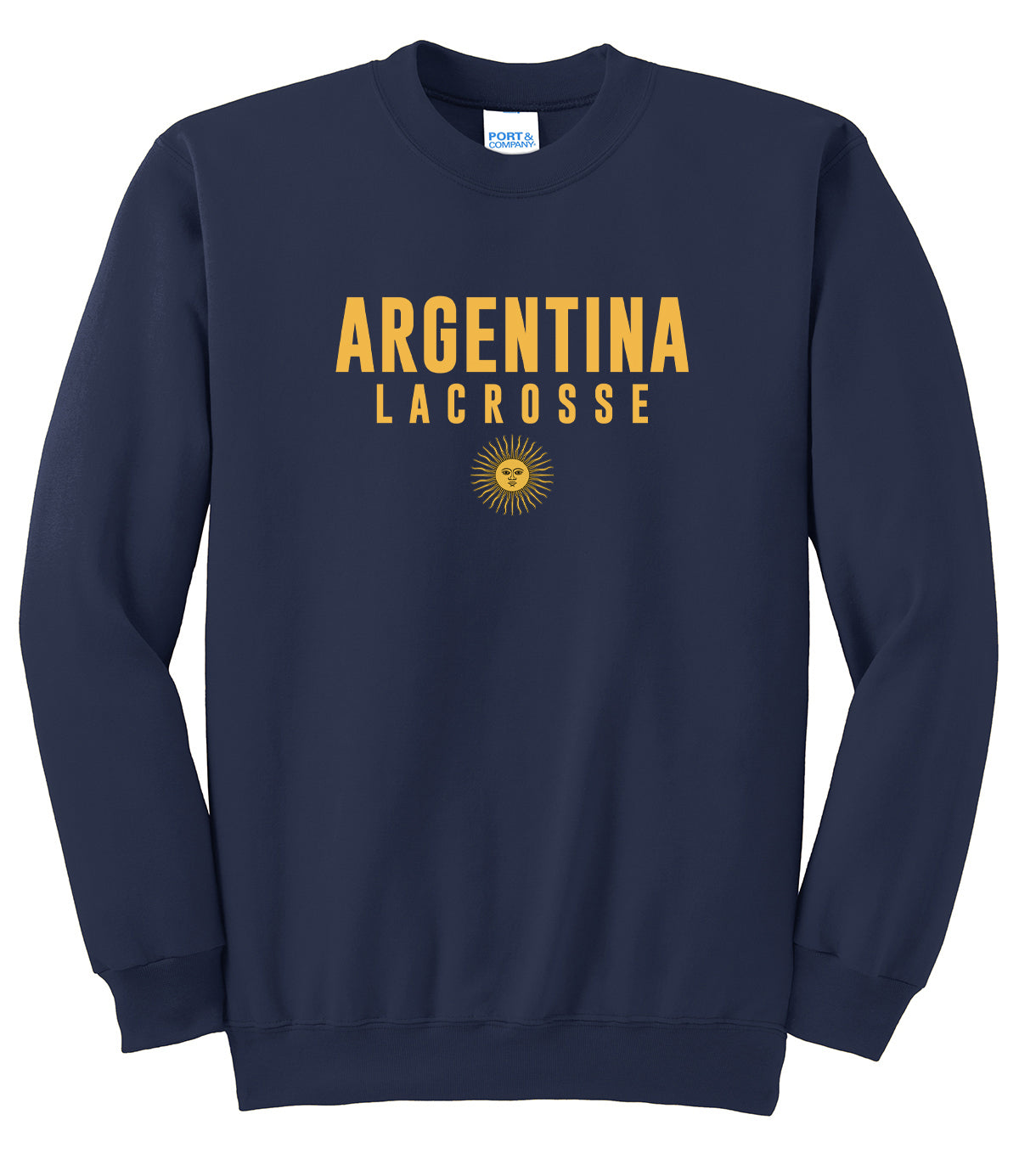 e219f89e68cd7 Argentina Lacrosse Crew Neck Sweater – Blatant Team Store