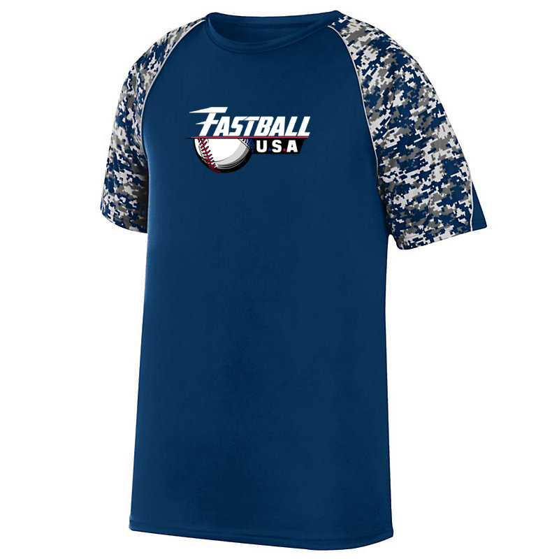 Fastball USA Academy Baseball Digi-Camo Performance T-Shirt