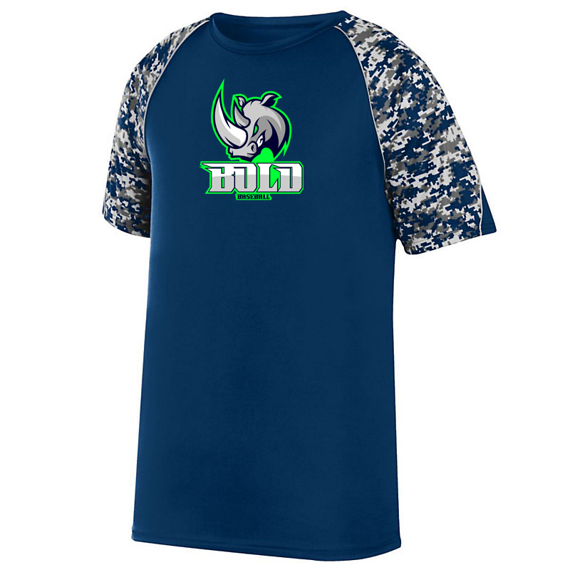 Bold Baseball Digi-Camo Performance T-Shirt