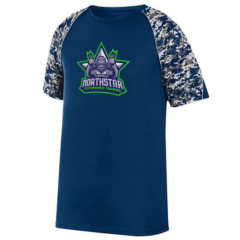Northstar Performance Training Navy Digi-Camo Performance T-Shirt