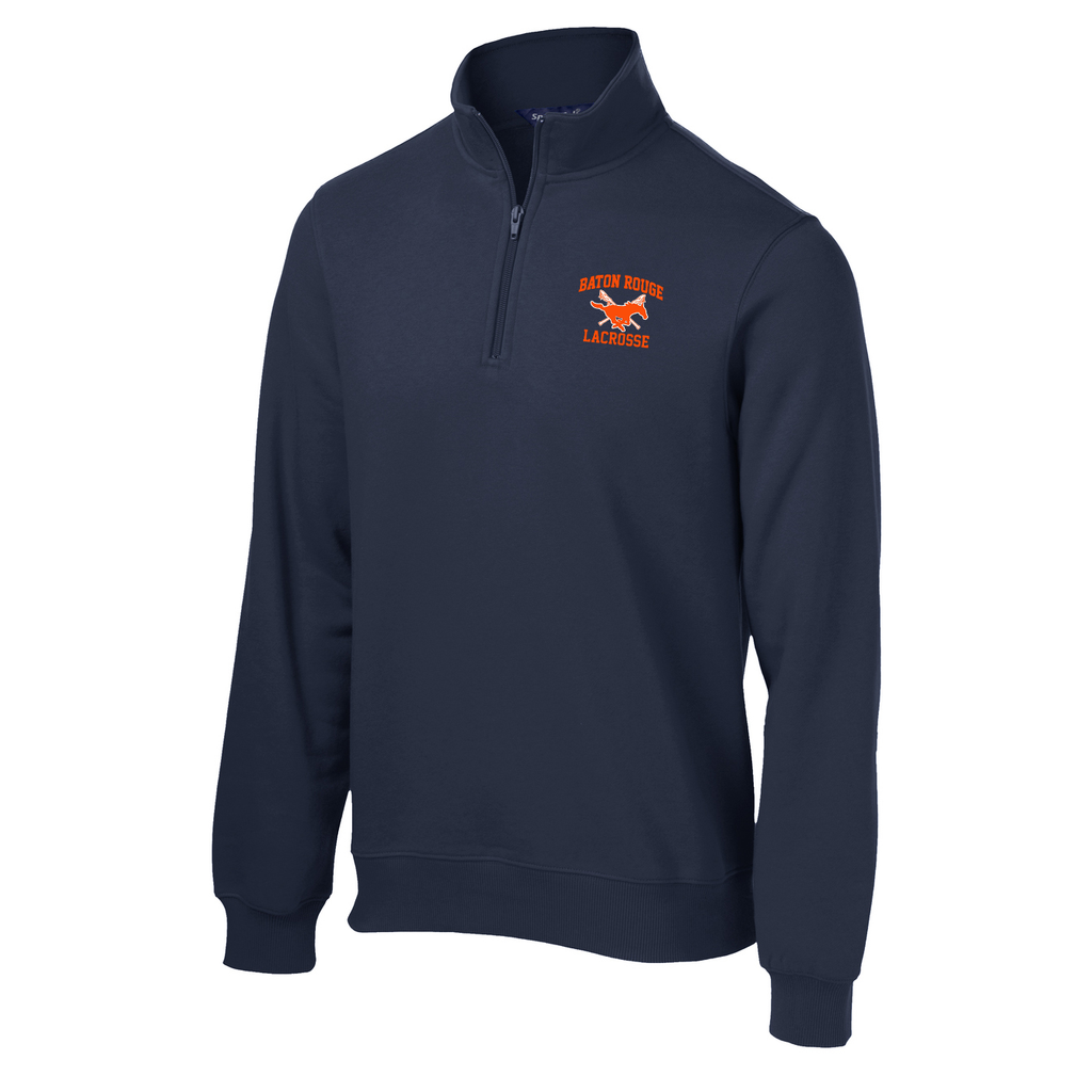 Baton Rouge Mustangs 1/4 Zip Fleece