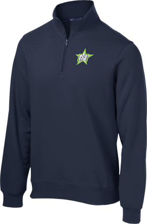 Northstar Baseball Navy 1/4 Zip Fleece