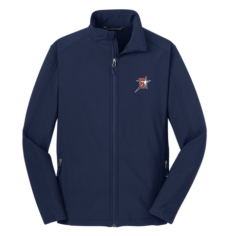 Eastvale Girl's Softball Soft Shell Jacket
