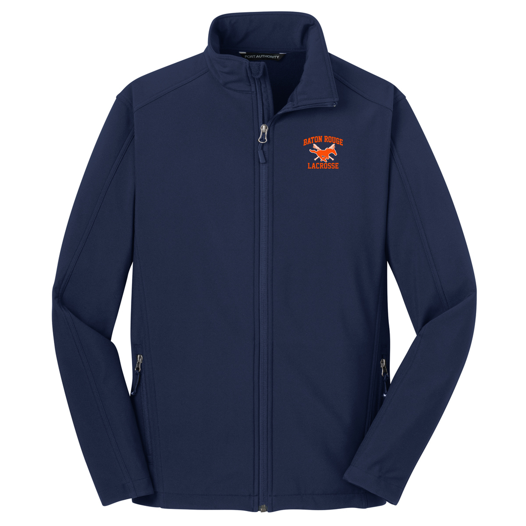 Baton Rouge Mustangs Soft Shell Jacket