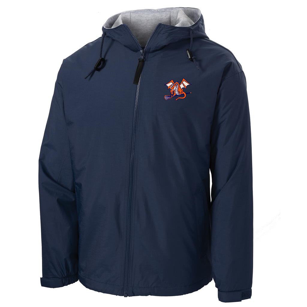 St Petes Dragons Lacrosse  Hooded Jacket