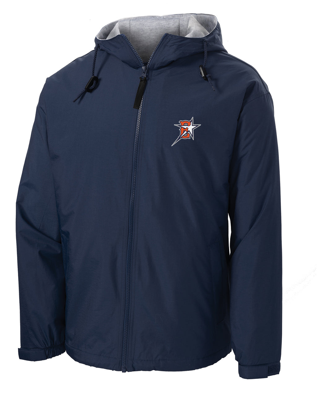 Eastvale Girl's Softball Hooded Jacket