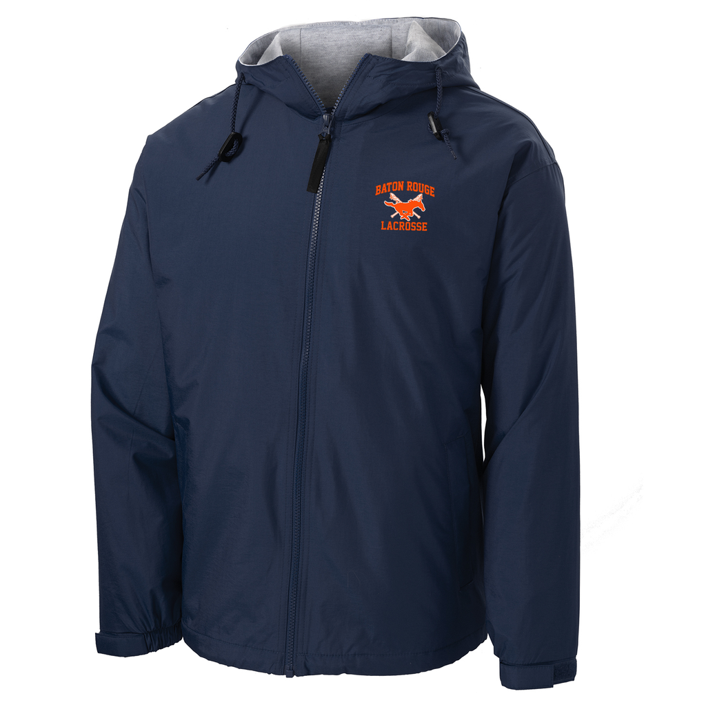 Baton Rouge Mustangs Hooded Jacket