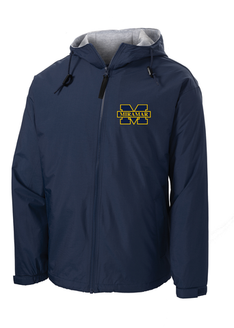 Miramar Wolverines Football Hooded Jacket
