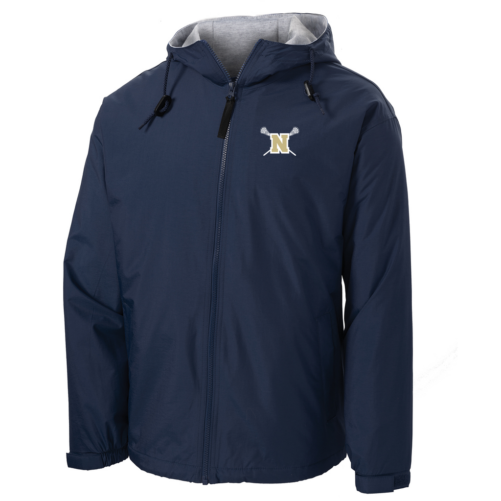 Newington High School Lacrosse Hooded Jacket