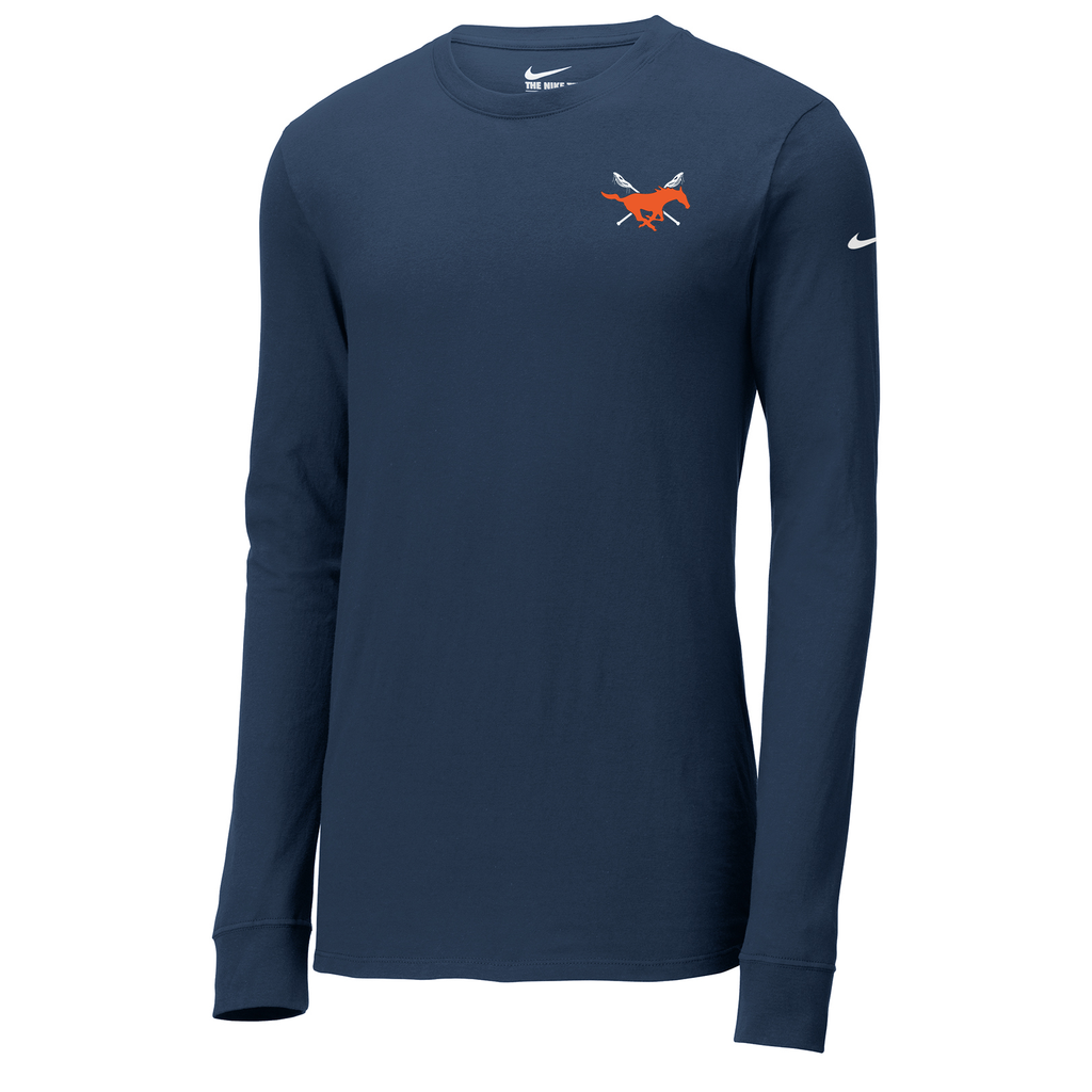 Baton Rouge Mustangs Nike Core Cotton Long Sleeve Tee