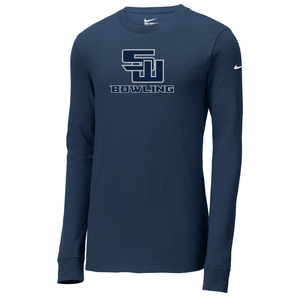 Smithtown West Bowling Nike Core Cotton Long Sleeve Tee