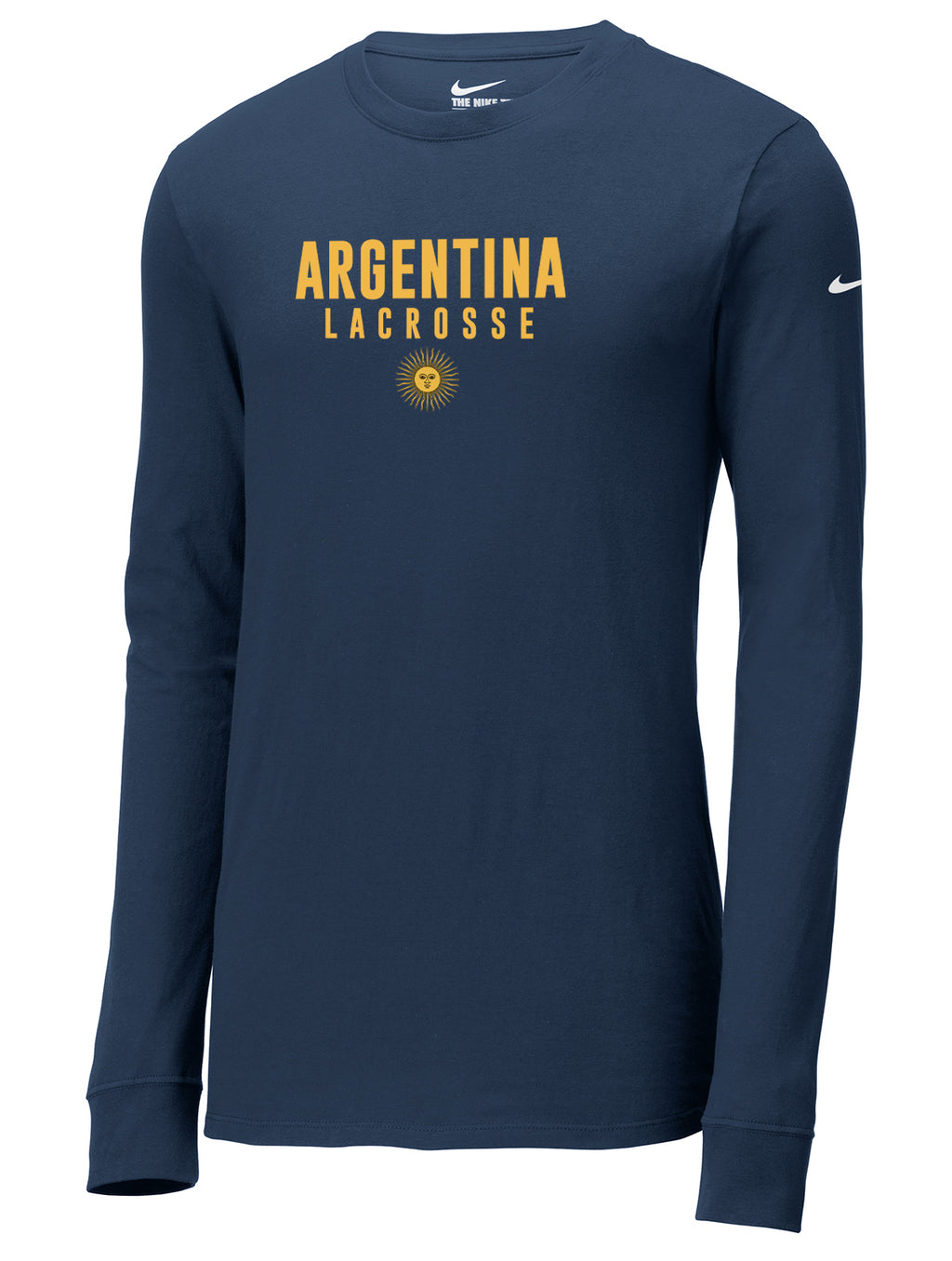 Argentina Lacrosse Nike Core Cotton Long Sleeve Tee