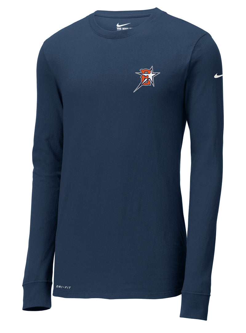 Eastvale Girl's Softball Nike Dri-FIT Long Sleeve Tee