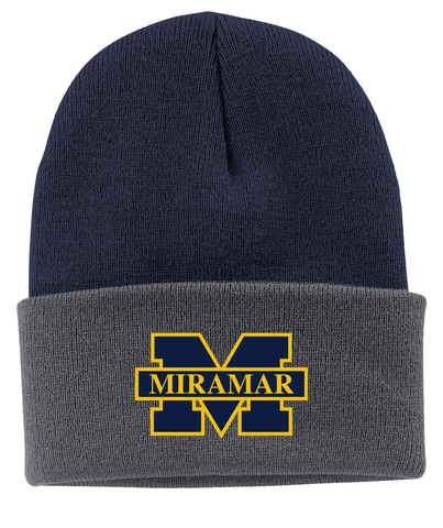 Miramar Wolverines Football Knit Beanie