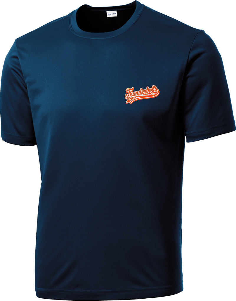 Illiana Thunderbolts Navy Performance T-Shirt