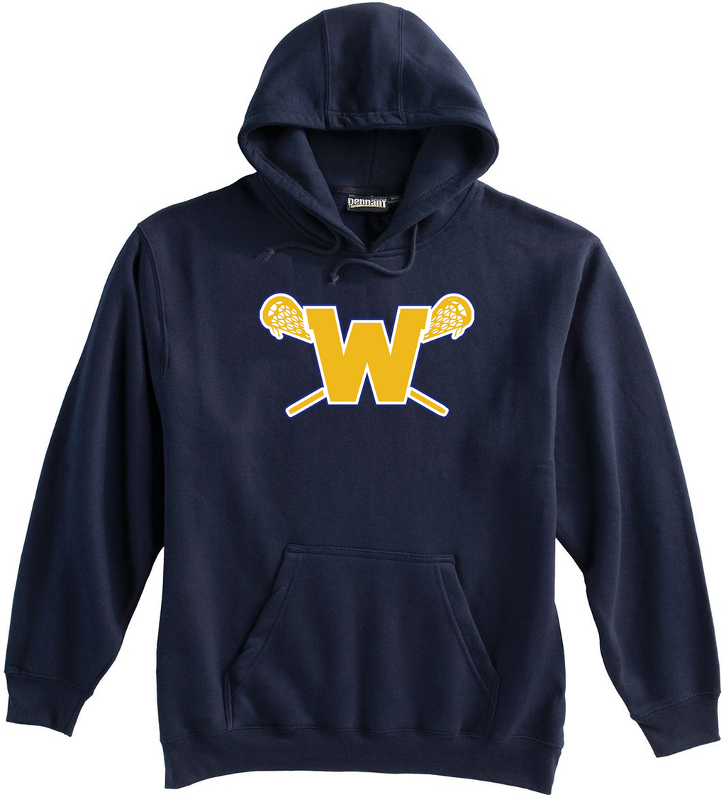 Webster Lacrosse Navy Sweatshirt