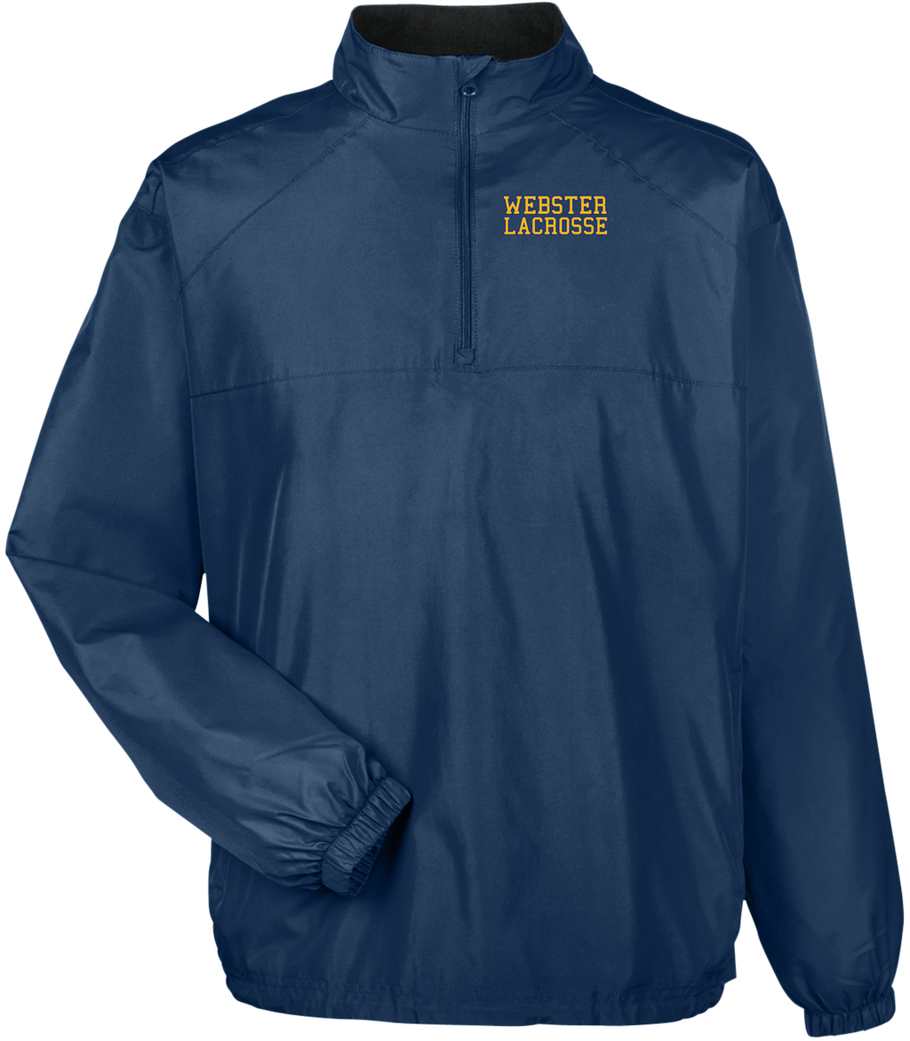 Webster Lacrosse Navy Windbreaker