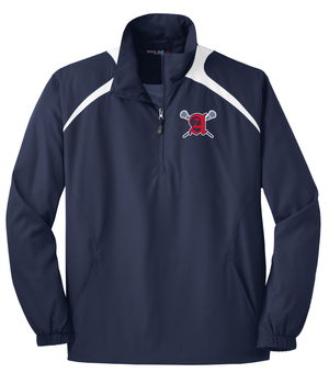 Augusta Patriots Navy & White 1/2-Zip