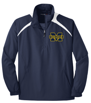 Miramar Wolverines Football Two-Tone Quarterzip