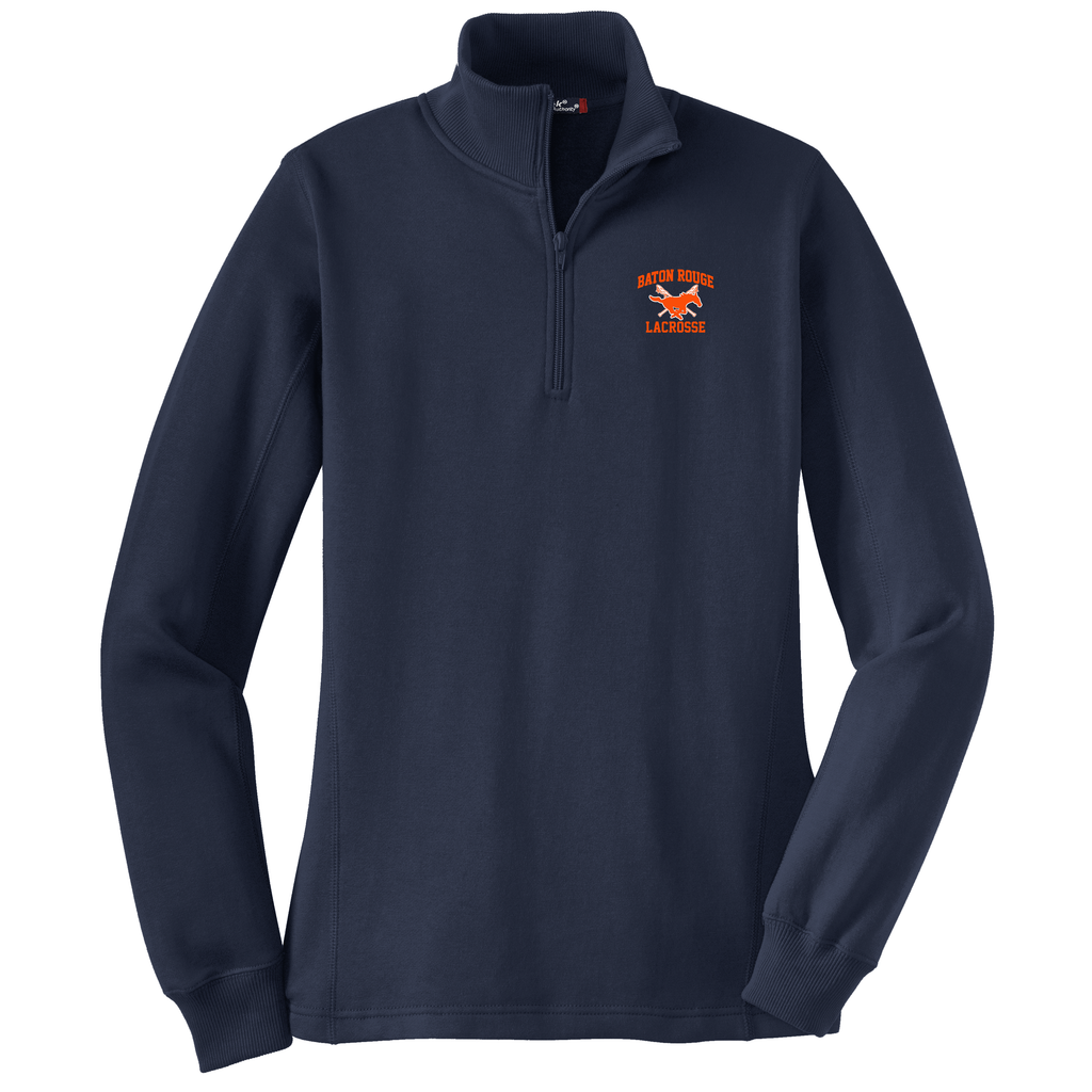 Baton Rouge Mustangs Women's 1/4 Zip Fleece