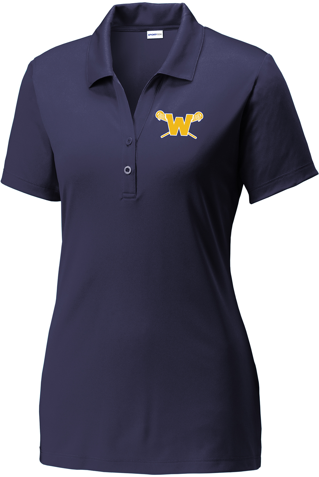 Webster Lacrosse Navy Women's Polo