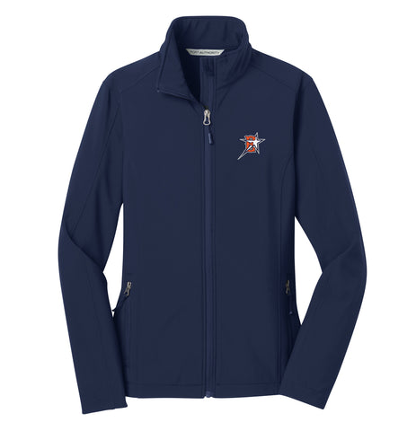 Eastvale Girl's Softball Women's Soft Shell Jacket