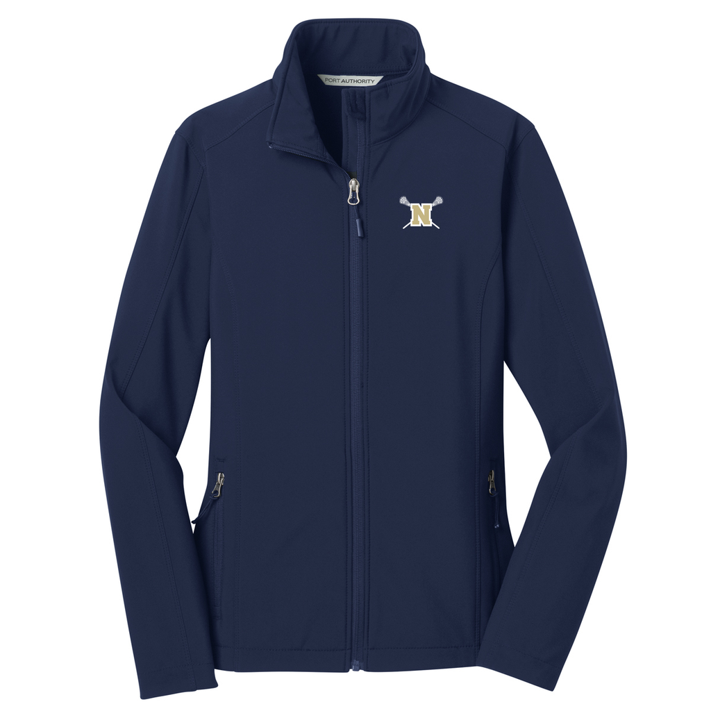 Newington High School Lacrosse Women's Soft Shell Jacket