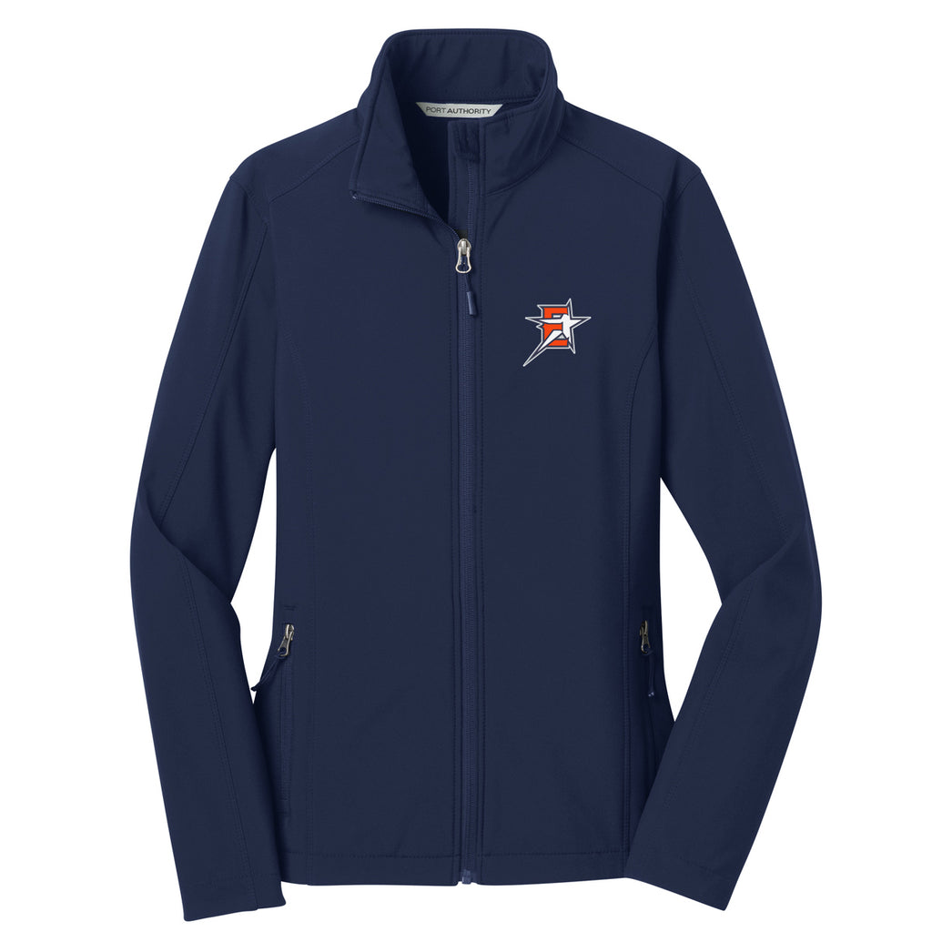 2019 Eastvale Girl's Softball Women's Soft Shell Jacket