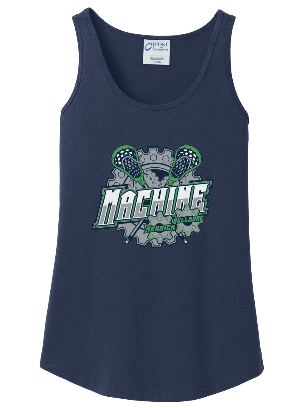 Merrick-Bellmore Women's Tank Top (Navy)