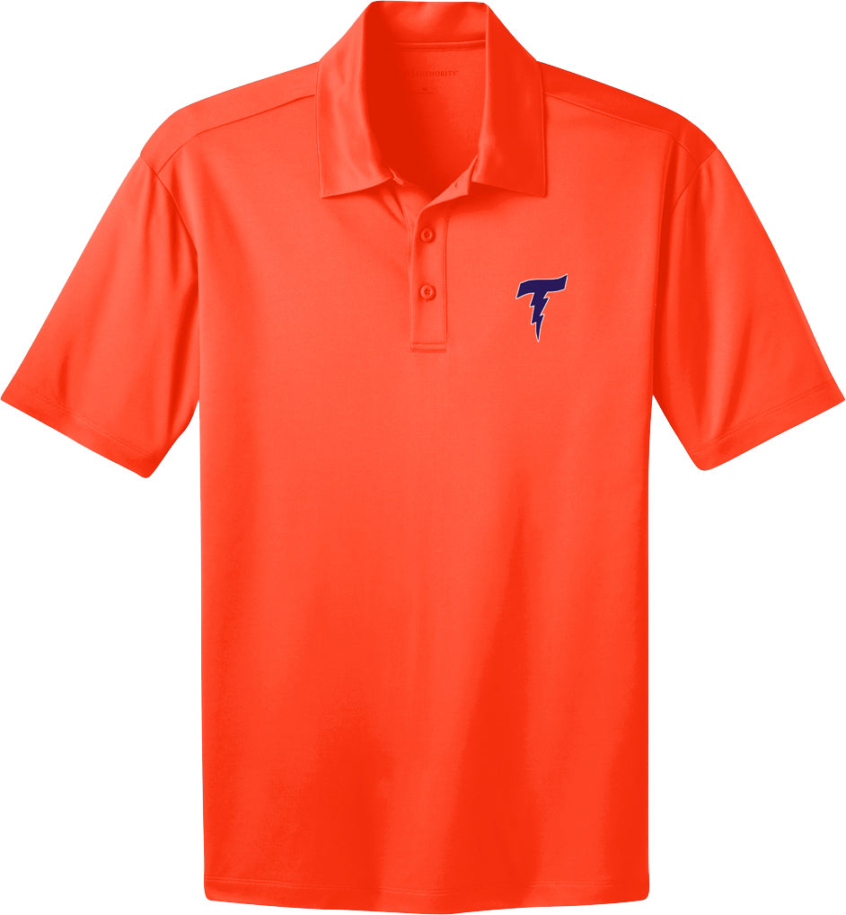 Illiana Thunderbolts Neon Orange Polo
