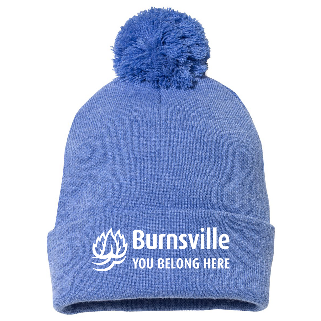 City of Burnsville Pom-Pom Beanie