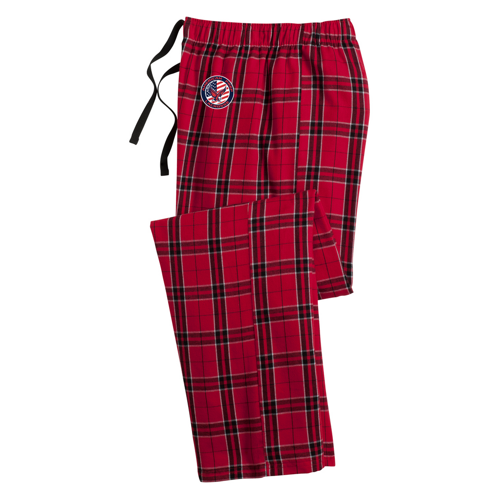 APA Lacrosse Plaid Pajama Pants