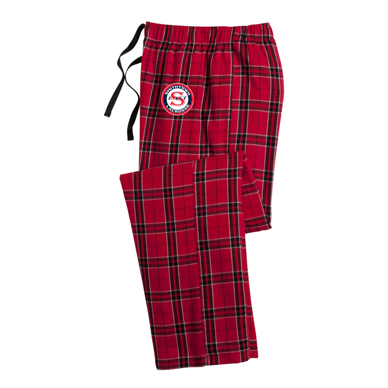 Smithtown East Girls Lacrosse Plaid Pajama Pants