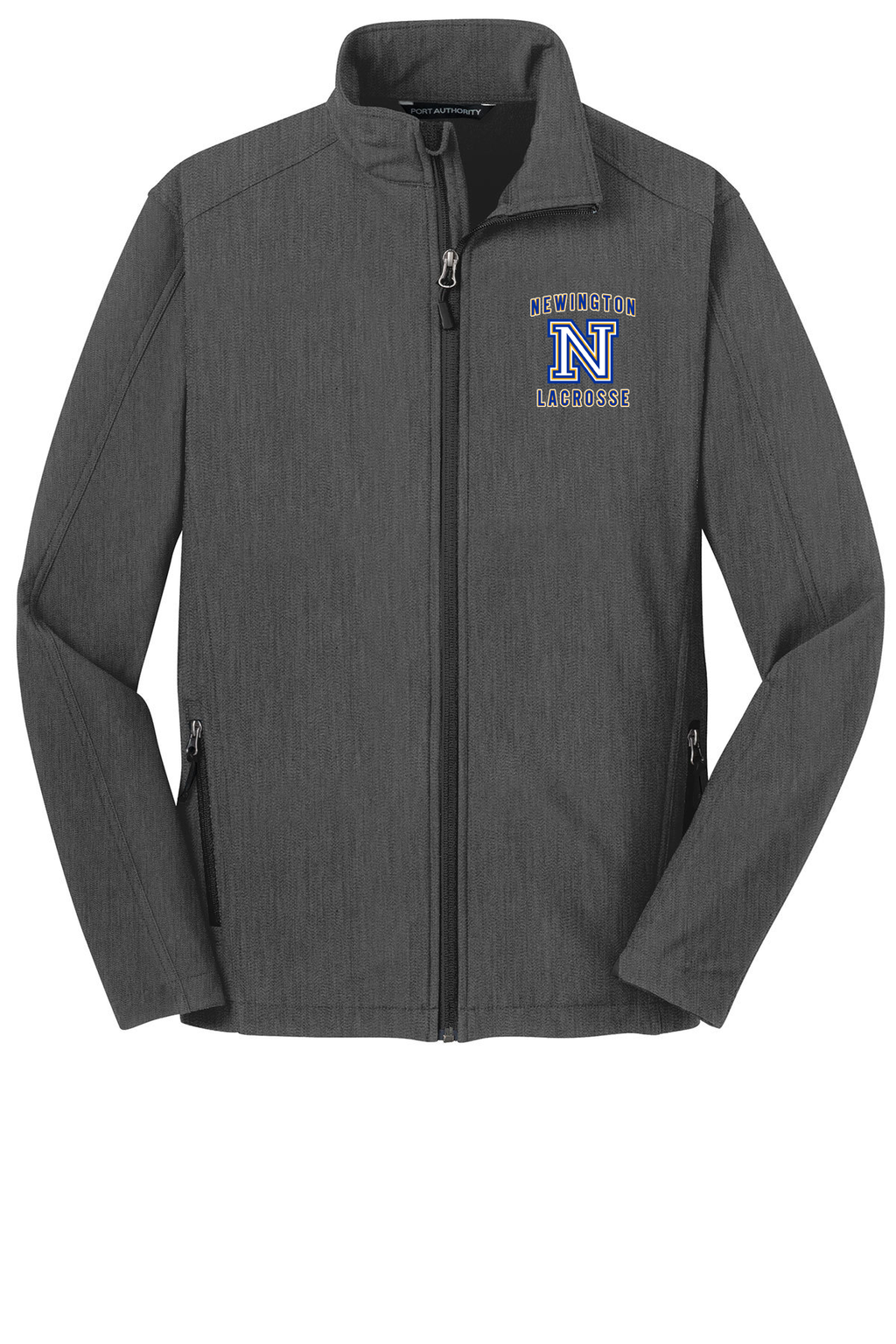 Newington Lacrosse Charcoal Soft Shell Jacket