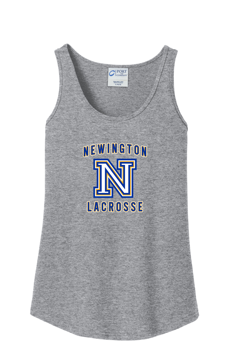 Newington Lacrosse Grey Women's Tank Top