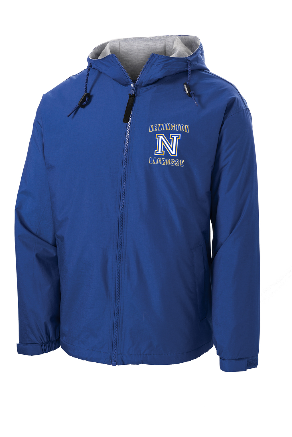 Newington Lacrosse Royal Hooded Jacket