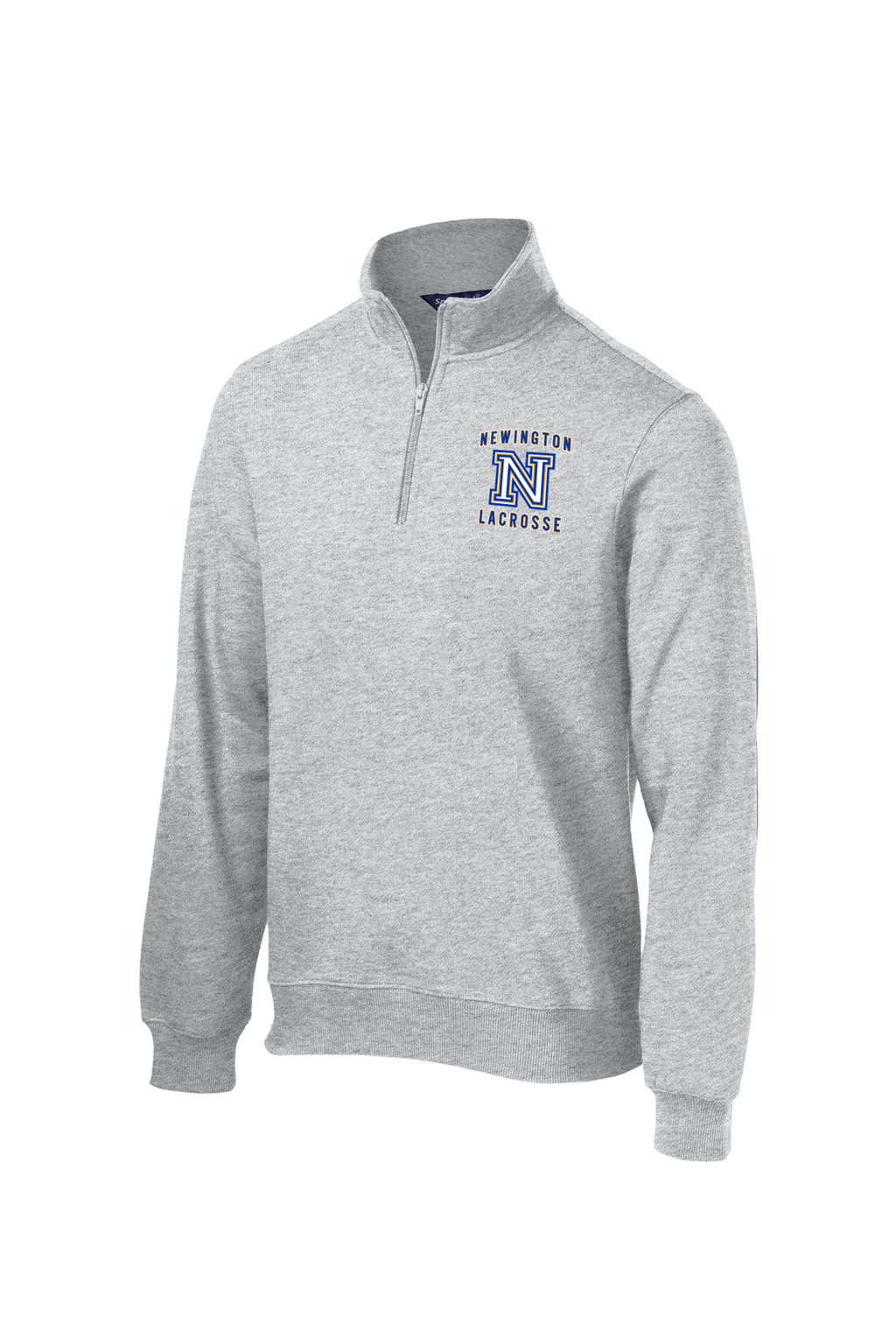 Newington Lacrosse Grey 1/4 Zip Fleece