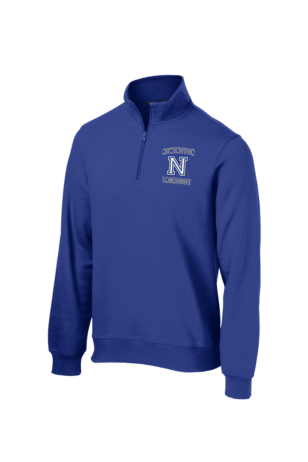 Newington Lacrosse Royal 1/4 Zip Fleece
