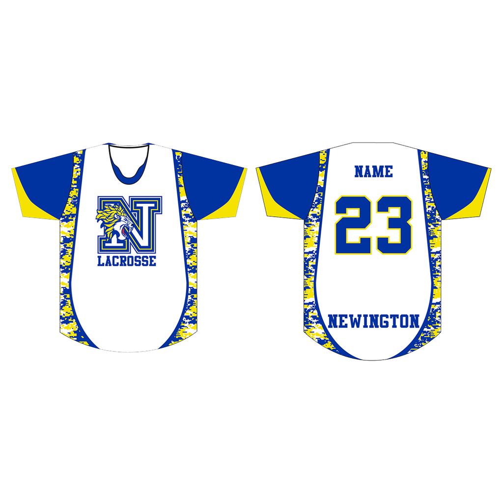 Newington Lacrosse Sublimated Shooting Shirt