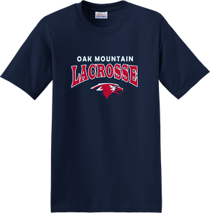 Oak Mtn. Lacrosse Navy T-Shirt