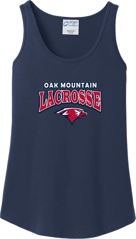 Oak Mtn. Lacrosse Women's Navy Tank Top