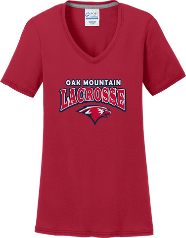 Oak Mtn. Lacrosse Women's Red T-Shirt