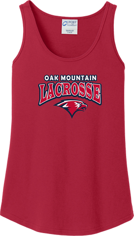 Oak Mtn. Lacrosse Women's Red Tank Top